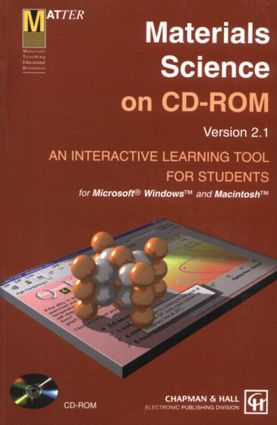 Materials Science on CD-ROM: 2nd Edition (CD-ROM) book cover
