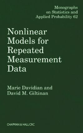 Nonlinear Models for Repeated Measurement Data: 1st Edition (Hardback) book cover