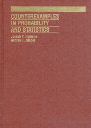 Counterexamples in Probability And Statistics: 1st Edition (Hardback) book cover