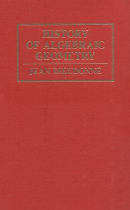 History Algebraic Geometry: 1st Edition (Hardback) book cover