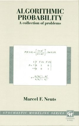Algorithmic Probability: A Collection of Problems, 1st Edition (Hardback) book cover
