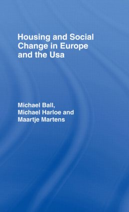 Housing & Soc Change Eur/Usa (Hardback) book cover