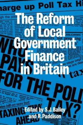 Reform Of Local Govt Finance: 1st Edition (Hardback) book cover