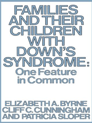 Families Child Downs Syndrome