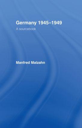 Germany 1945-1949