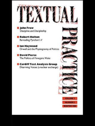 Textual Practice