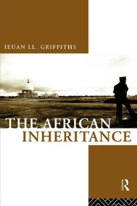 The African Inheritance: 1st Edition (Paperback) book cover