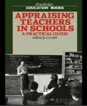 Appraising Teachers In School