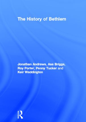 The History of Bethlem (Hardback) book cover