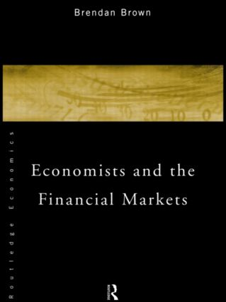 Economists and the Financial Markets (Paperback) book cover