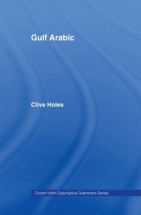 Gulf Arabic book cover