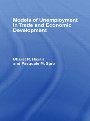 Models of Unemployment in Trade and Economic Development: 1st Edition (Hardback) book cover