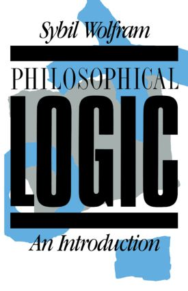 Philosophical Logic: An Introduction book cover