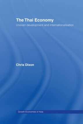 The Thai Economy: 1st Edition (Hardback) book cover