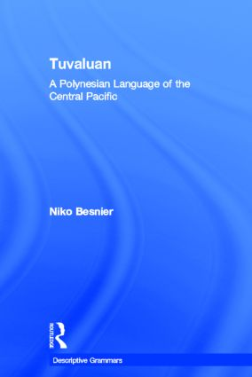 Tuvaluan: A Polynesian Language of the Central Pacific. (Hardback) book cover