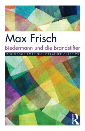 Biedermann und die Brandstifter book cover