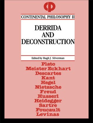 Derrida and Deconstruction: 1st Edition (Paperback) book cover