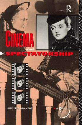 Cinema and Spectatorship: 1st Edition (Paperback) book cover