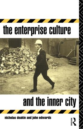 The Enterprise Culture and the Inner City (Paperback) book cover