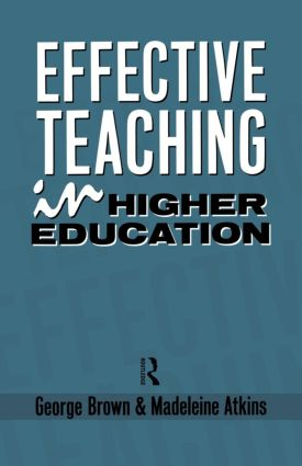 Effective Teaching in Higher Education: 1st Edition (Paperback) book cover