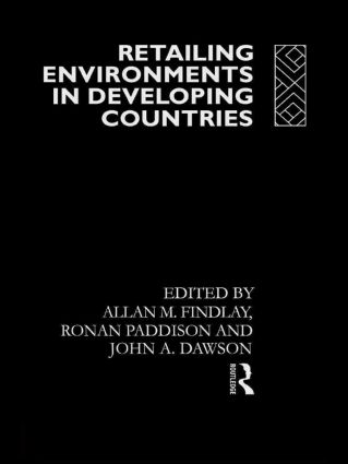 Retailing Environments in Developing Countries (Hardback) book cover