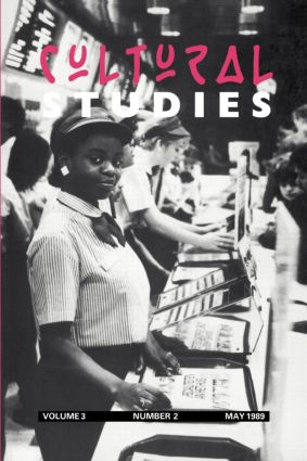 Cultural Studies: Volume 3, Issue 2 (Paperback) book cover