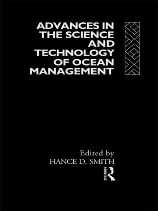 Advances in the Science and Technology of Ocean Management (Hardback) book cover