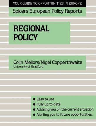 Regional Policy: 1st Edition (Paperback) book cover