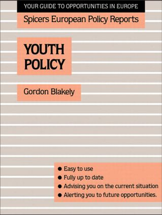 Youth Policy (Paperback) book cover