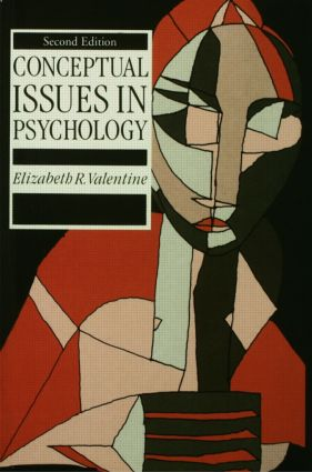 Conceptual Issues in Psychology: 2nd Edition (Paperback) book cover