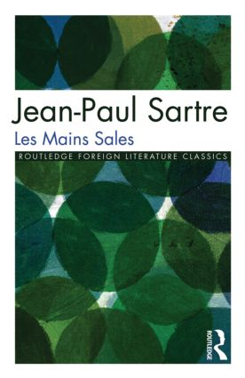 Les Mains Sales (Paperback) book cover