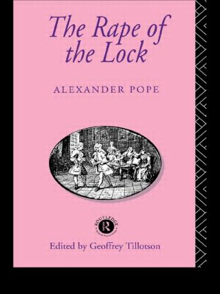 The Rape of the Lock: 3rd Edition (Paperback) book cover