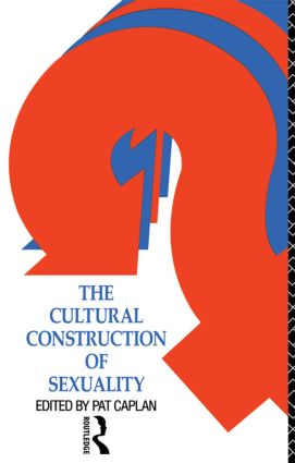 The Cultural Construction of Sexuality (Paperback) book cover