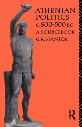 Athenian Politics c800-500 BC: A Sourcebook book cover