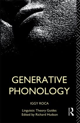 Generative Phonology (Paperback) book cover