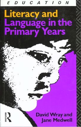 Literacy and Language in the Primary Years: 1st Edition (Paperback) book cover