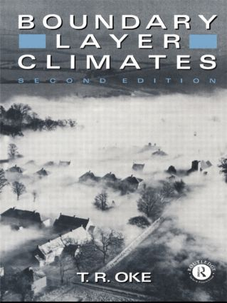 Boundary Layer Climates: 2nd Edition (Paperback) book cover