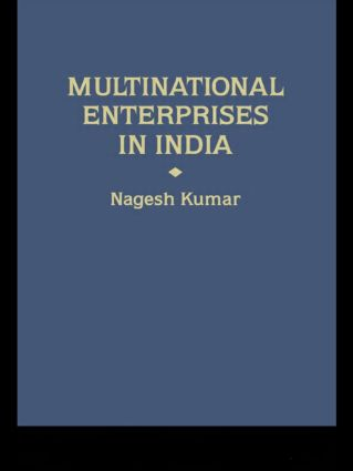 Multinational Enterprises in India: Industrial Distribution book cover