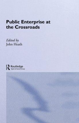Public Enterprise at the Crossroads: 1st Edition (Hardback) book cover