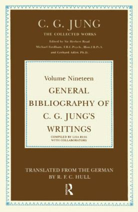 General Bibliography of C.G. Jung's Writings book cover