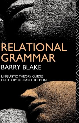 Relational Grammar: 1st Edition (Paperback) book cover