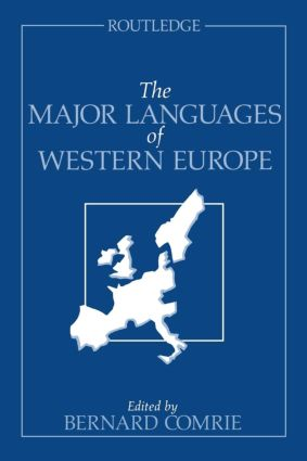 The Major Languages of Western Europe: 1st Edition (Paperback) book cover