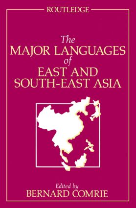 The Major Languages of East and South-East Asia: 1st Edition (Paperback) book cover