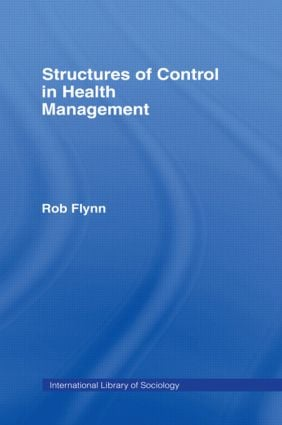 Structures of Control in Health Management book cover