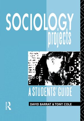 Sociology Projects: A Students' Guide (Paperback) book cover