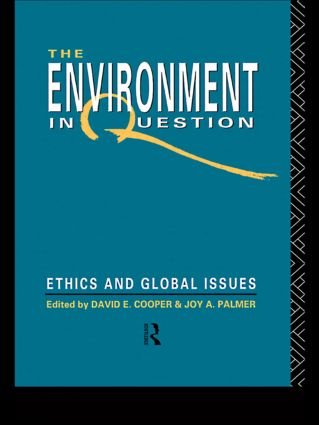 Environment In Question (Paperback) book cover