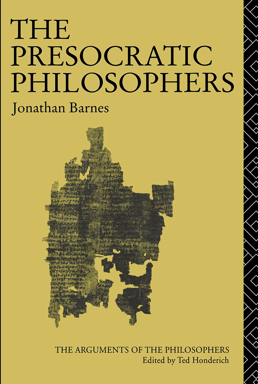 The Presocratic Philosophers: 1st Edition (Paperback) book cover