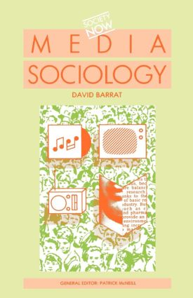 Media Sociology book cover
