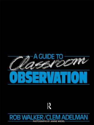 A Guide to Classroom Observation (Paperback) book cover