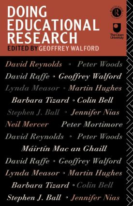 Doing Educational Research (Paperback) book cover